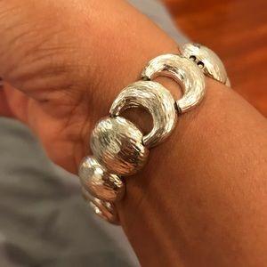 Silver-Plated Stretchy Bracelet